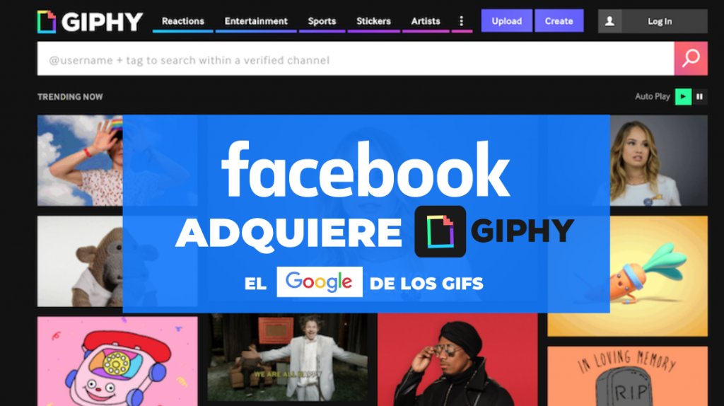 Facebook adquiere Giphy